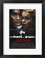 Framed Sleepy Hollow Johnny Depp