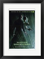 Framed Matrix Revolutions Neo & Trinity