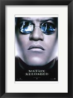 Framed Matrix Reloaded Morpheus