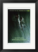 Framed Matrix Revolutions Morpheus & Trinity