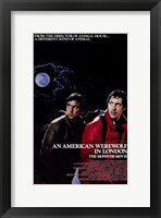 Framed American Werewolf in London