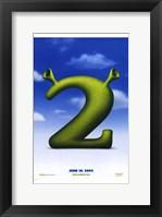 Framed Shrek 2 Logo
