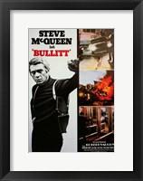 Framed Bullitt Scenes