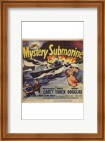 Framed Mystery Submarine