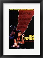 Framed Pulp Fiction Definition