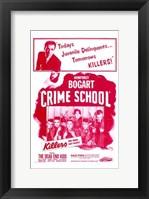 Framed Crime School