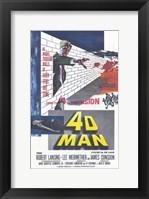 Framed 4D Man