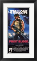 Framed Rambo: First Blood Stallone