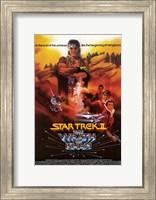 Framed Star Trek 2: the Wrath of Khan