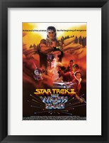 Framed Star Trek 2: the Wrath of Khan