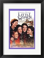 Framed Little Women - purple frame