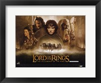 Framed Lord of the Rings: Fellowship of the Ring