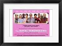 Framed Royal Tenenbaums - wide