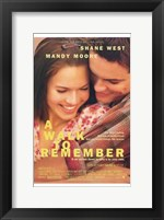 Framed Walk to Remember  a