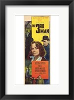 Framed Third Man Joseph Cotten