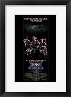 Framed Ghostbusters Tall