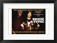 Framed Biggie and Tupac