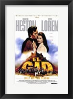 Framed El Cid - Hugging
