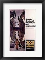 Framed 2001: a Space Odyssey Astronaut