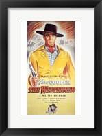 Framed Westerner Cowboy