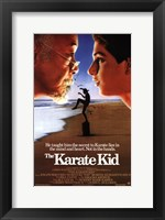 Framed Karate Kid Beach
