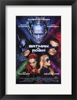 Framed Batman and Robin Movie