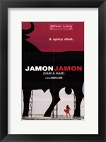 Framed Jamon Jamon
