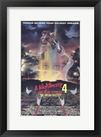 Framed Nightmare on Elm Street 4: Dream Master