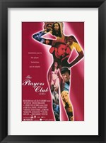Framed Players Club - woman figure