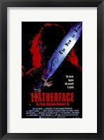 Framed Leatherface: the Texas Chainsaw Massacre
