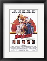 Framed Mars Attacks Movie