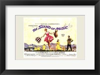 Framed Sound of Music Horizontal Musical