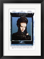 Framed Portrait of a Lady Nicole Kidman