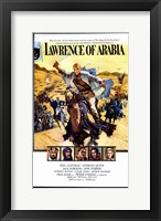 Framed Lawrence of Arabia Cast