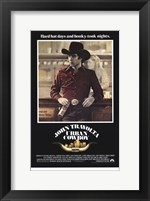 Framed Urban Cowboy