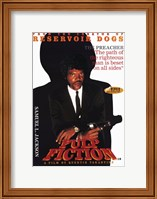 Framed Pulp Fiction The Preacher