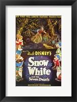 Framed Walt Disney's Snow White and the Seven Dwarfs
