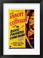 Framed Abbott and Costello, Buck Privates Come Home, c.1947
