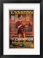 Framed Champion