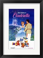 Framed Cinderella Mice