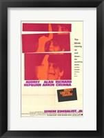 Framed Wait Until Dark Audrey Hepburn