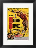 Framed Rose Bowl Story