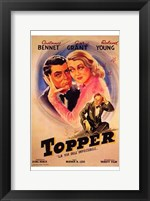 Framed Topper - couple hugging