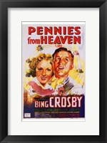 Framed Pennies from Heaven