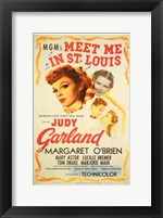 Framed Meet Me in St Louis