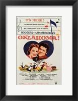 Framed Oklahoma