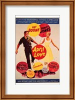 Framed April Love