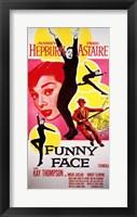 Framed Funny Face Astaire Hepburn
