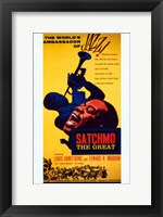 Framed Satchmo the Great