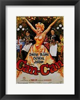 Framed Can Can Starring Shirley MacLaine